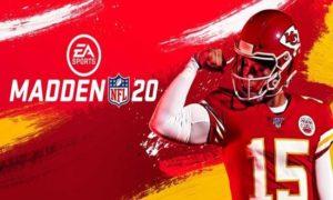 Madden NFL 20 game
