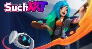 SuchArt Genius Artist Simulator Game